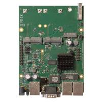 MIKROTIK Powerful OEM RouterBOARD with three Gigabit LAN and two miniPCIe slots (RBM33G)